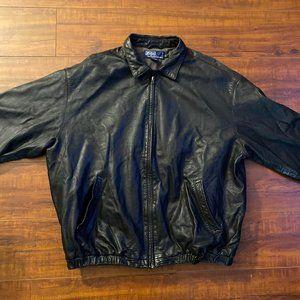 Vintage Polo Ralph Lauren Genuine Leather Jacket